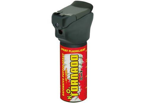 Газовый баллончик ESP KO Tornado с LED фонариком, фото 1