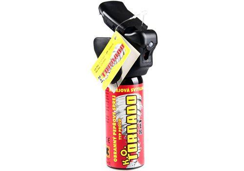 Газовый баллончик ESP KO Tornado с LED фонариком, фото 2