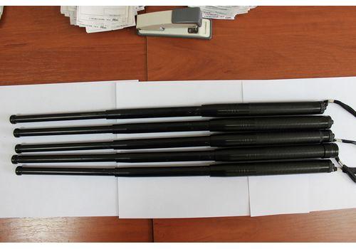 Телескопическая дубинка 49.5 см (черная) УЦЕНКА, фото 2